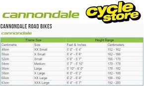 Cannondale Size Chart Height Cannondale Topstone Carbon Ultegra Rx Gravel Bike