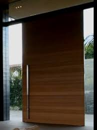 Pivot Front Door Nonwarping Patented Honeycomb Panels And Door - Exterior pivot door