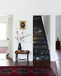 Old House Staircase Design Diy Floral Staircase From Old Home Love Home Decor Diy