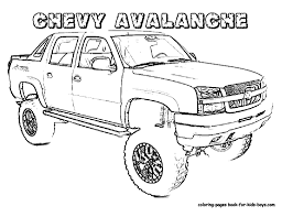 trucks pictures to color.  Pictures Wonderful Truck Picture To Color Inside Trucks Pictures O