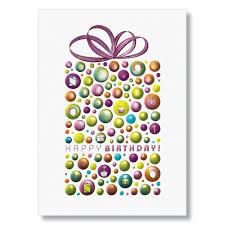 Happy Birthday Business Card Wpg Metallic Surprises Birthday Card
