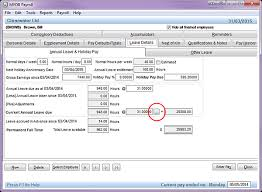 Annual Leave Rate Calculation Support Notes Myob Payroll New