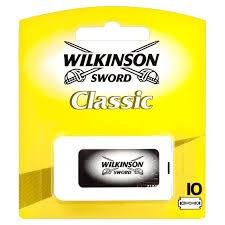 Wilkinson Sword Classic Double Edge Mens Razor Blades 10 Per Pack