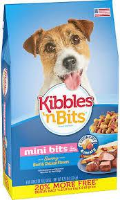 Kibbles N Bits Small Breed Mini Bits Savory Beef Chicken