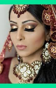smokey eyes indian bride glitter bridal makeup