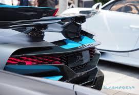 Grey / black carbon fiber bugatti divo in doha. Bugatti Divo Is A Super Rare Coachbuilt King Of Cornering Slashgear
