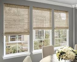 Dining Room Blinds Fascinating Natural Woven Waterfall Shades Smith Noble Item48 New Home