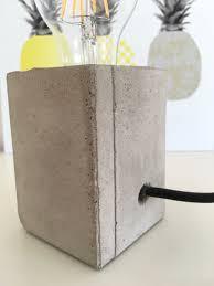 Beton Lampe Selbermachen Diy11 Re Usando Kids Lamps Diy Lighting