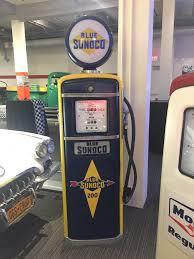 late 40 s early 50 s sunoco gas pump golbarco