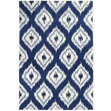 blue ikat outdoor rug s