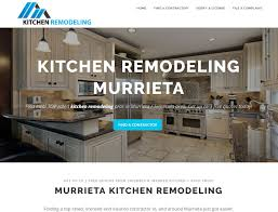 Kitchen Remodeling Business Website Design For Small Business