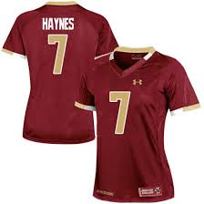 Color Women's Armour Haynes Under Team Jersey Eagles Replica Tate Boston Maroon College