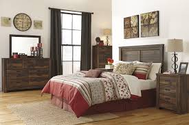 Shabby Chic Black Bedroom Furniture Brown Wall Combine Stone Fireplace Rustic Bedroom Decor Square