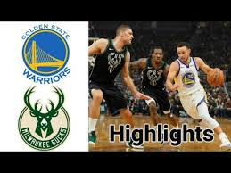 Warriors Vs Bucks HIGHLIGHTS Halftime ...