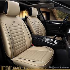 car seat covers universal pu leather auto front back seat covers for hyundai solaris ix35 i30 ix25 elantra accent tucson sonata seat cushion car leather
