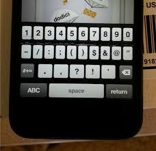 iPhone 5 iOS 6 Keyboard Issues iphone