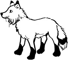 Small Picture Of Fox Colouring Pages Fox Coloring Pages In Animals Coloring