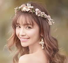 Bridal <b>Floral</b> Headband Garland Crown Wedding BOHO <b>Hydrangea</b>