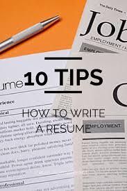 Susan Irelands 10 Steps How To Write A Resume Resume Help