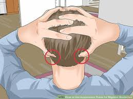 Headache Acupressure Points Chart 5 Ways To Use Acupressure Points For Migraine Headaches