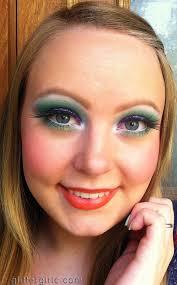 tropical bird makeup