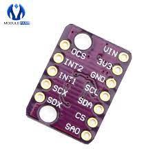 GY LSM6DS3 LSM6DS3 Gia Tốc Con Quay Hồi Chuyển Nhúng Nhiệt Độ Kỹ Thuật Số Cảm  Biến SPI IIC I2C Giao Diện Mô Đun 8kb FIFO Đệm 5V gyro sensor