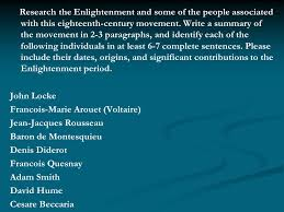 essays assess the impact of the scientific revolution on religion research the enlightenment and some of the people associated this eighteenth century movement