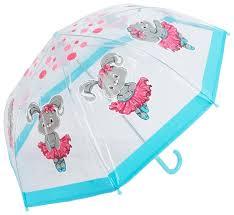Купить <b>Зонт Mary Poppins</b> прозрачный/голубой по низкой цене с ...