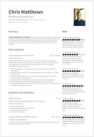 How To Create A Standout Maintenance Technician Resume