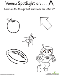 learning vowels the alphabet letter learning vowels \