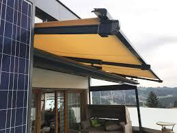 Terrassenüberdachung Alu Mit Beschattung Sonnen Windschutz