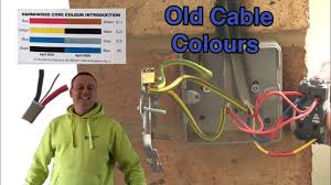 Lighting Wire Colours Uk Old Cable Colours Pre 2004 In 2 Way Switching And A Feed Supply To A Switch For An Outside Light