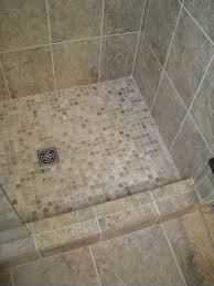 mosaic tile for shower floor what kind of