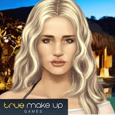 play rosie true make up browser game for free