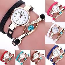 <b>2018 Women Watch</b> Geneva <b>Brand</b> Fashion Dress Ladies <b>Watches</b> ...