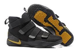 lebron water. hot selling nike lebron zoom soldier 11 black gold men\u0027s basketball shoes water