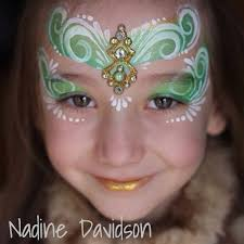 nadine davidson princess face paint bling cer gem cer face paint face