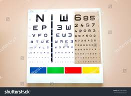 Eye Charts Used By Doctors Eye Chart Medical Clinic Eye Chart Stock Image Download Now