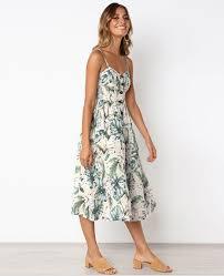<b>Vintage</b> Bohemian Floral Dress -
