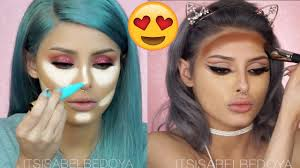 makeup tutorials pilation 2017 how to contour highlight your face 6