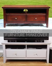 DIY Chalk Paint Furniture Makeover