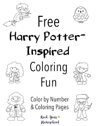 Our frames and picture frames are not only stylish, but they also protect your prints and posters! Free Harry Potter Inspired Coloring Fun Rock Your Homeschool