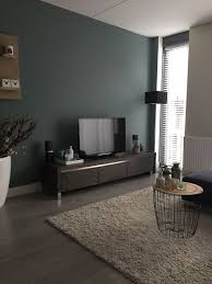 Muurverf Groen Kleur Zuil Van Praxis Huis Woonkamer In 2019