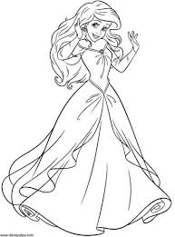 Disney princes sofia the first colouring page for kids you can read more info on disney here. 101 Little Mermaid Coloring Pages Nov 2020 And Ariel Coloring Pages