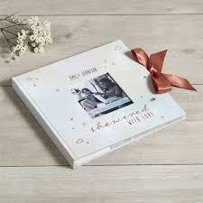 Baby Photo Album Book Personalized Multi Coloured Baby Shower Picture Album