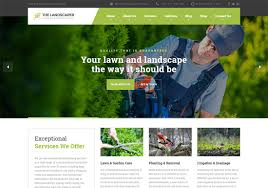 18 Best Landscaping Website Templates 2019 Colorlib