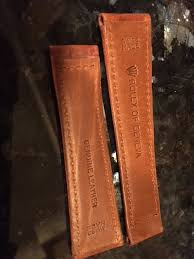 rolex leather strap spring bars can only fit one side of the clasp