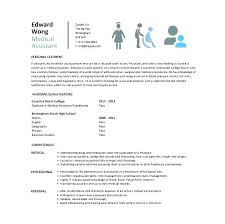 Sample Resume For Medical Assistant Cool Curriculum Vitae Template For Healthcare Professionals Templates Uk
