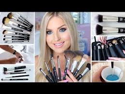 how to clean makeup brushes new xobeauty italian brush range shaaanxo