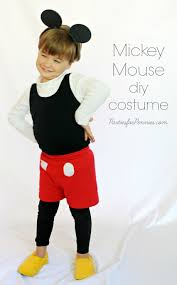 diy costumes mickey mouse